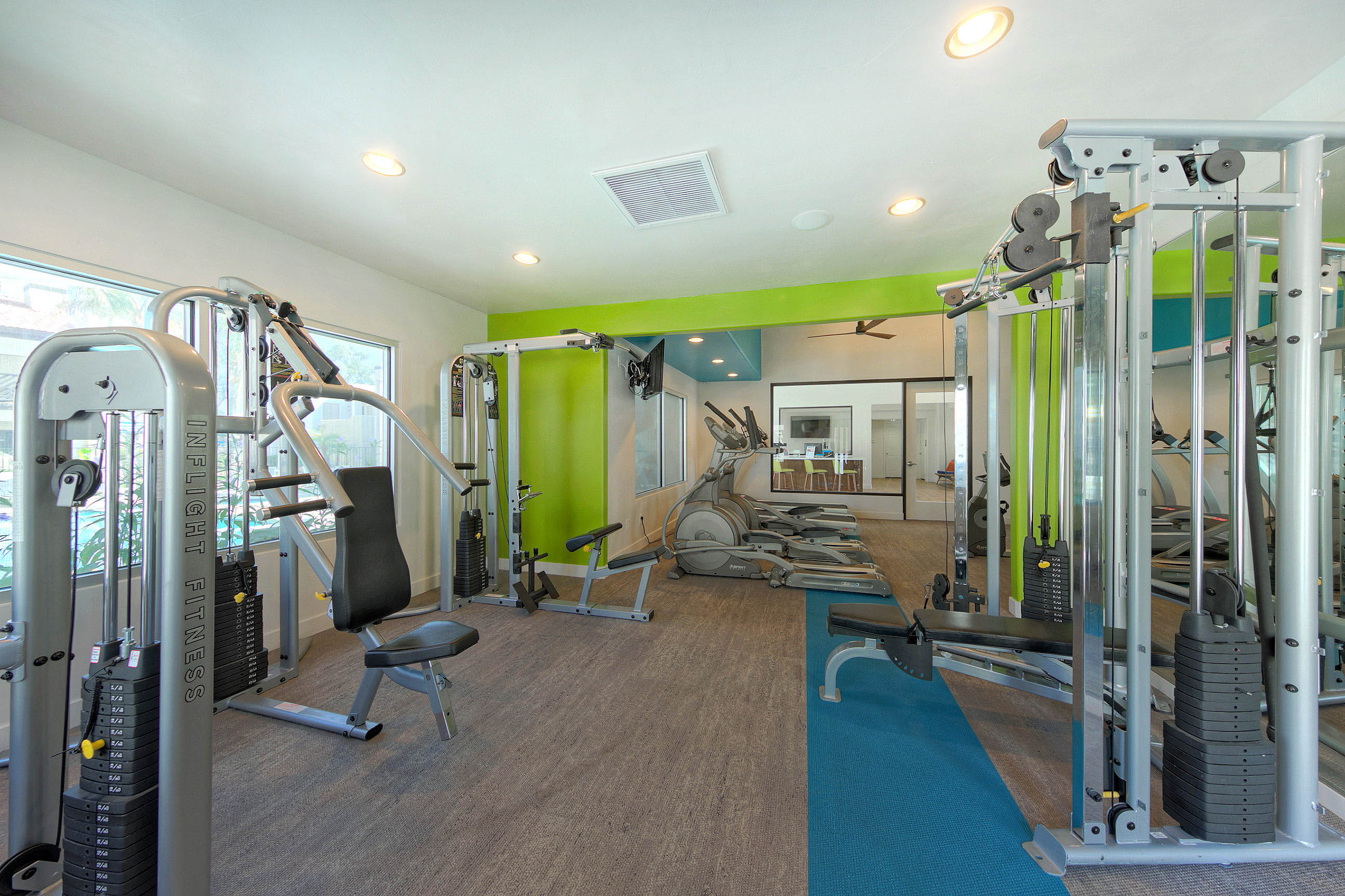 Villa Blanco_Tempe_AZ_Fitness Center Machines