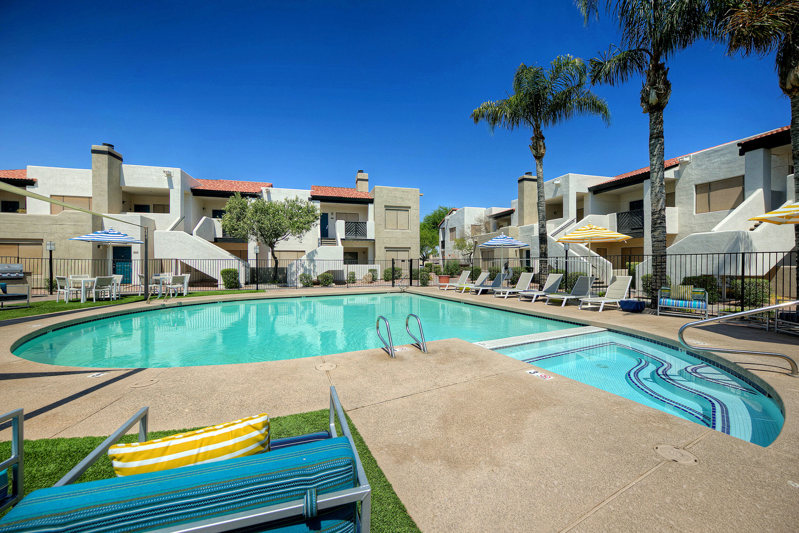 Villa Blanco_Tempe_AZ_Pool and Spa Area