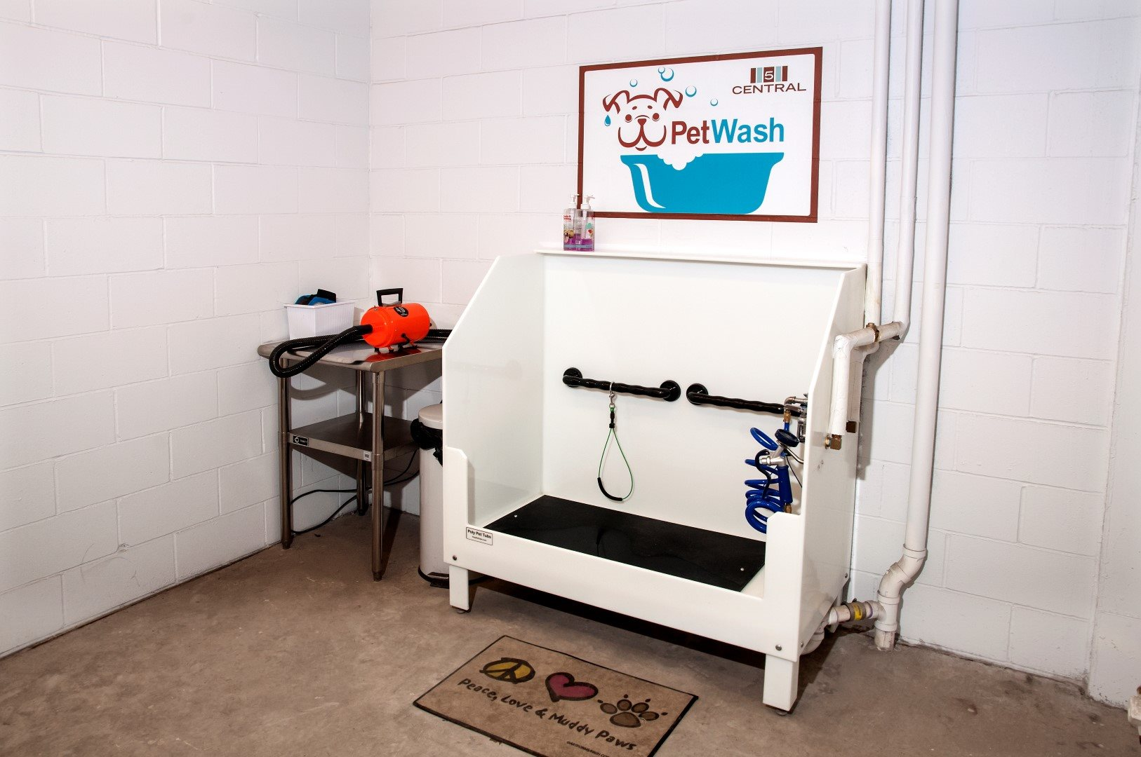 Pet Washing Station  at 5 Central Apartments, Osseo, MN,55369