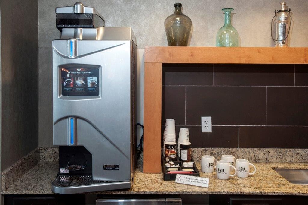 Central Perk - Complimentary Coffee Bar  at 5 Central Apartments, Osseo, MN,55369