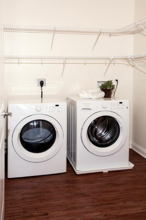 In-Home Washer and Dryer at 5 Central Apartments, Osseo, MN,55369
