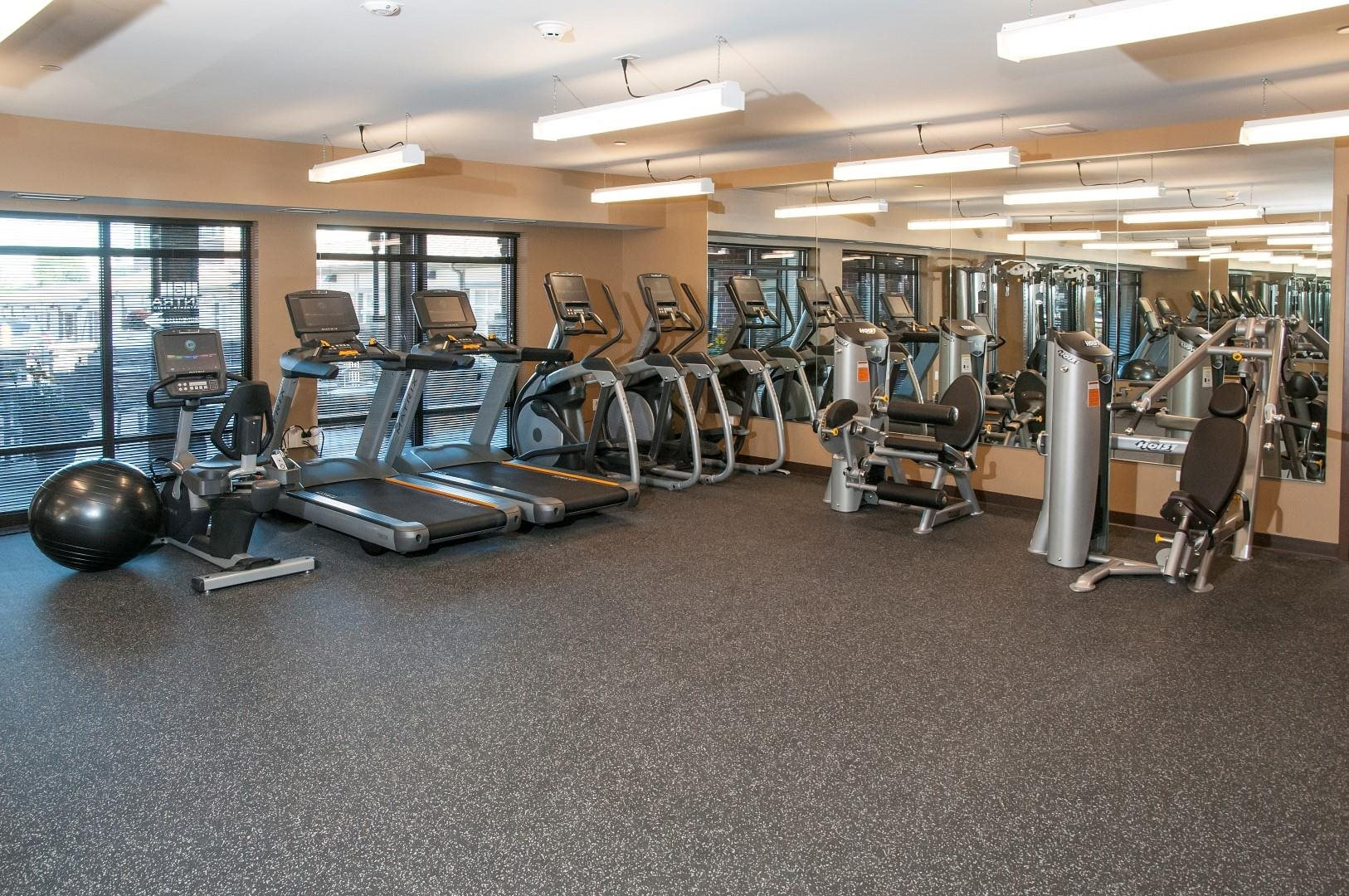 Cardio Equipment at 5 Central Apartments, Osseo, MN 55369