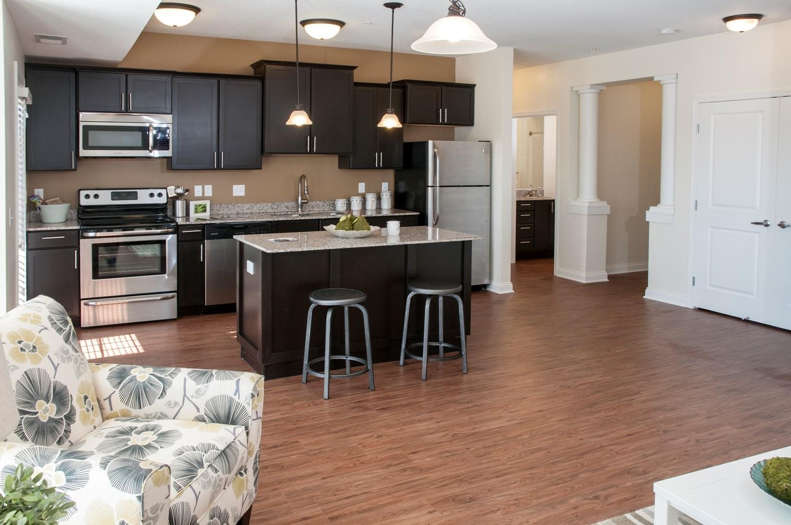 Stainless Steel Appliances at 5 Central Apartments, Osseo, 55369
