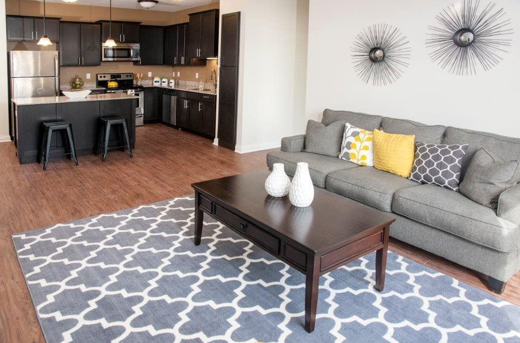 Oversized Floorplans and Windows at 5 Central Apartments, Minnesota, 55369