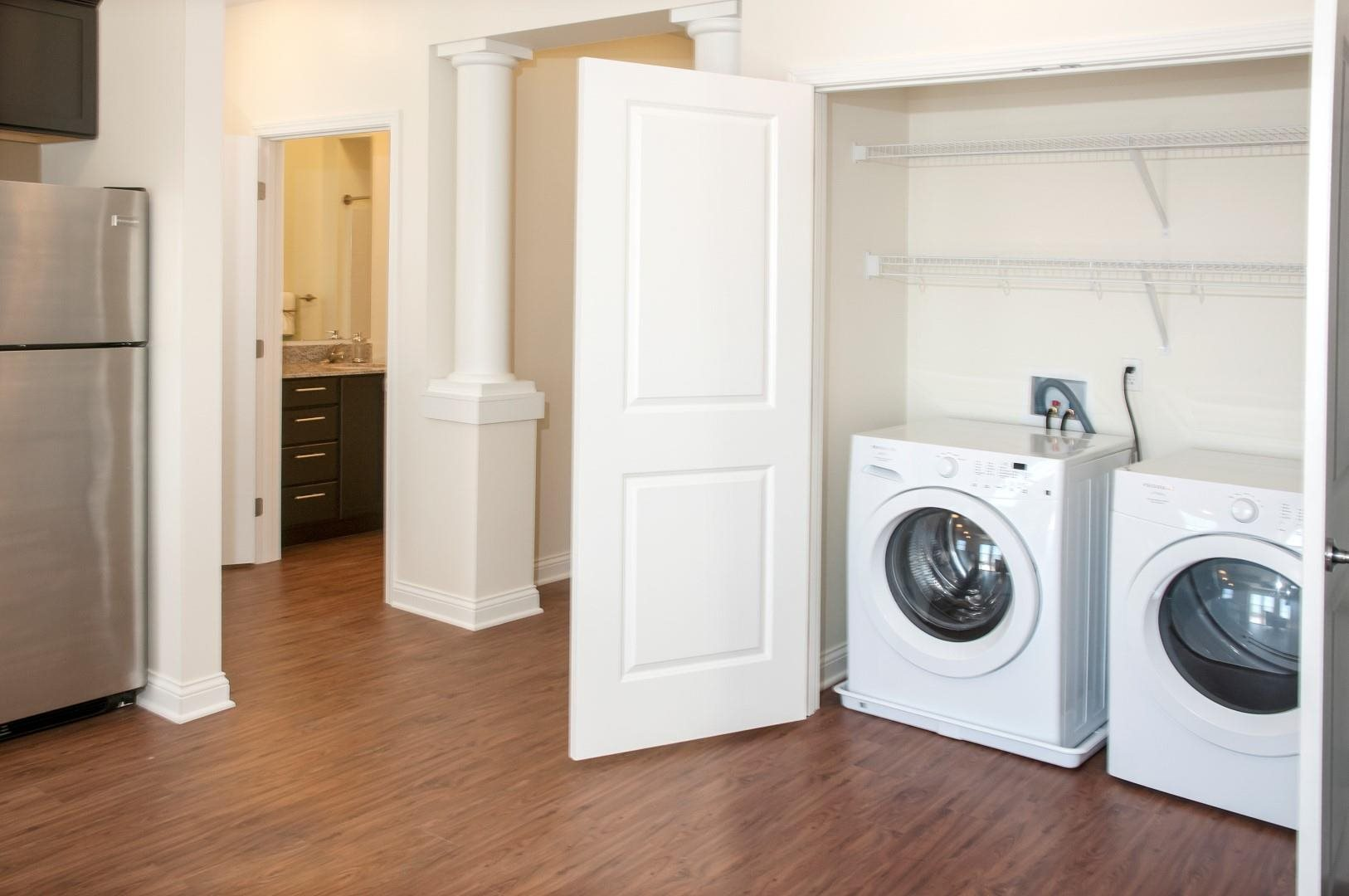 Full Sized Washer and Dryer Included at 5 Central Apartments, Osseo, MN