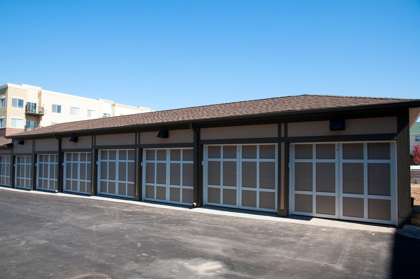 Private Garage Available at 5 Central Apartments, Osseo, 55369