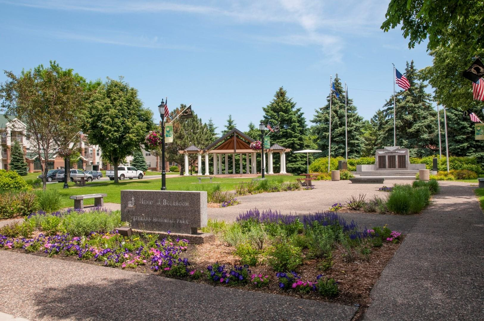 Lovely Rock Creek Park Views at 5 Central Apartments, Osseo, 55369