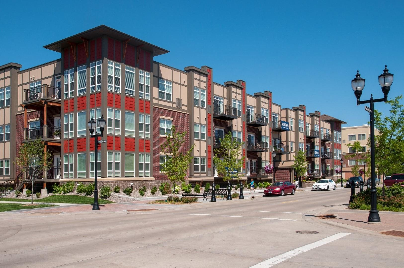 Off Street Parking at 5 Central Apartments, Osseo, 55369