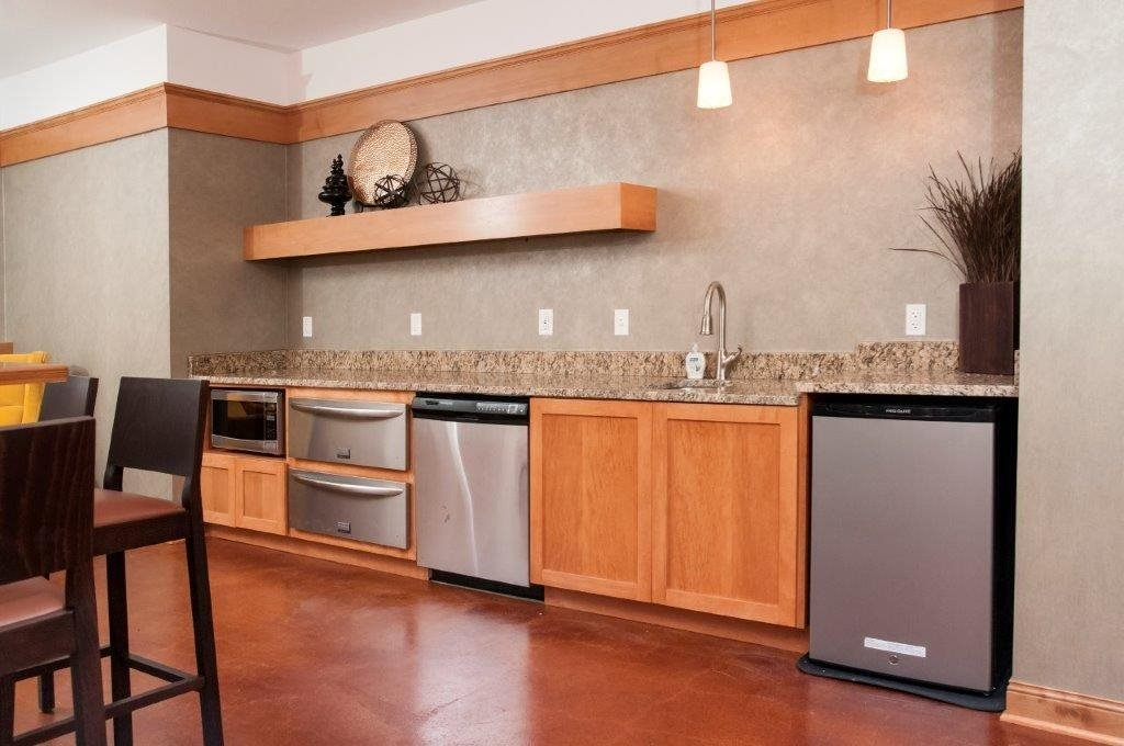 Top-of-the-line Kitchens at 5 Central Apartments, Minnesota