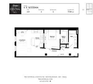 700 Central_Minneapolis, MN_1BR-1BA_Curtiss