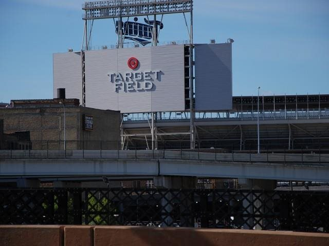 Target Field Stadium in Minneapolis, MN