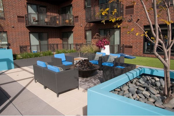 Outdoor Gathering Area at Martin Blu, Eden Prairie, MN 55344