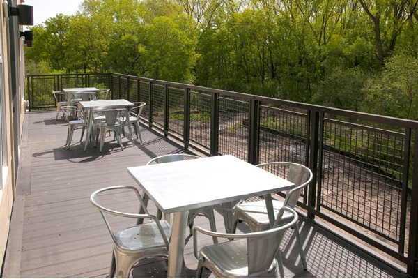 Patio/Balcony at Overlook on the Creek, Minnetonka, MN