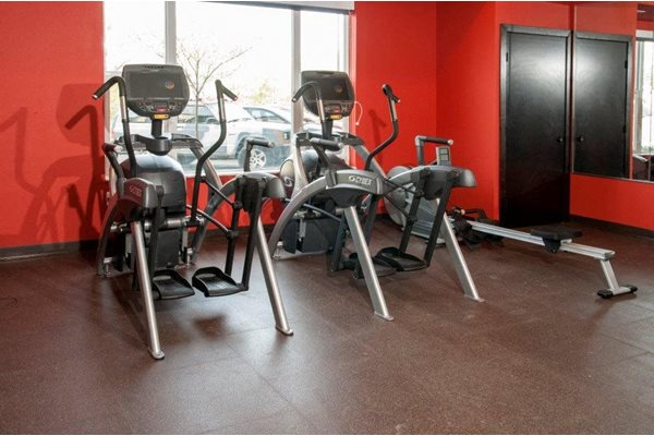 Fitness Center with Updated Equipment at Overlook on the Creek, Minnetonka