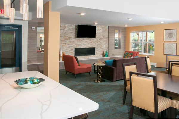 Resident Lounge at Eastwood Ridge, Rochester, 55904