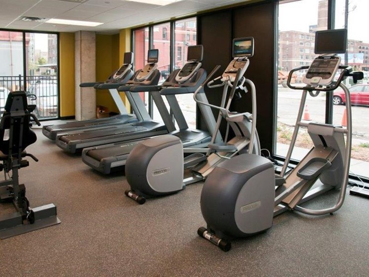 Fully Equipped Fitness Center at Third North, Minneapolis, 55401
