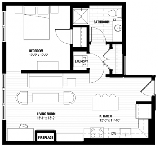 1 Bedroom Apartments Minneapolis: Studio, 1 & 2 Bedroom Apartments In Minneapolis, MN