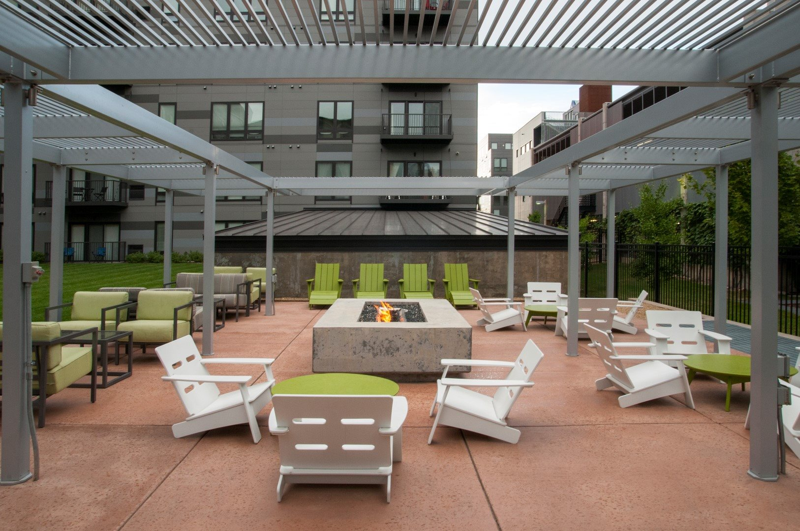 Large Patio With Comfortable Chairs at Third North, Minnesota, 55401