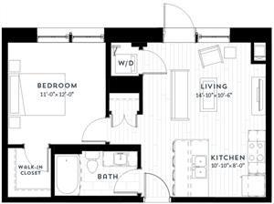 Floor plan at Custom House, Minnesota, 55101