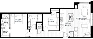 Floor plan at Custom House, Minnesota