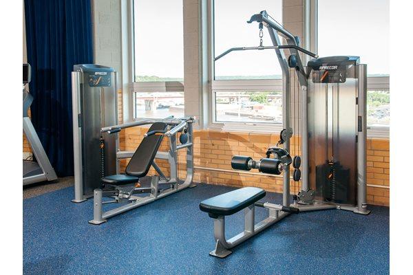 24 hour Fitness Center at Custom House, Minnesota