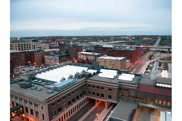 Aerial View of Apartment at Custom House, St. Paul, MN 55101