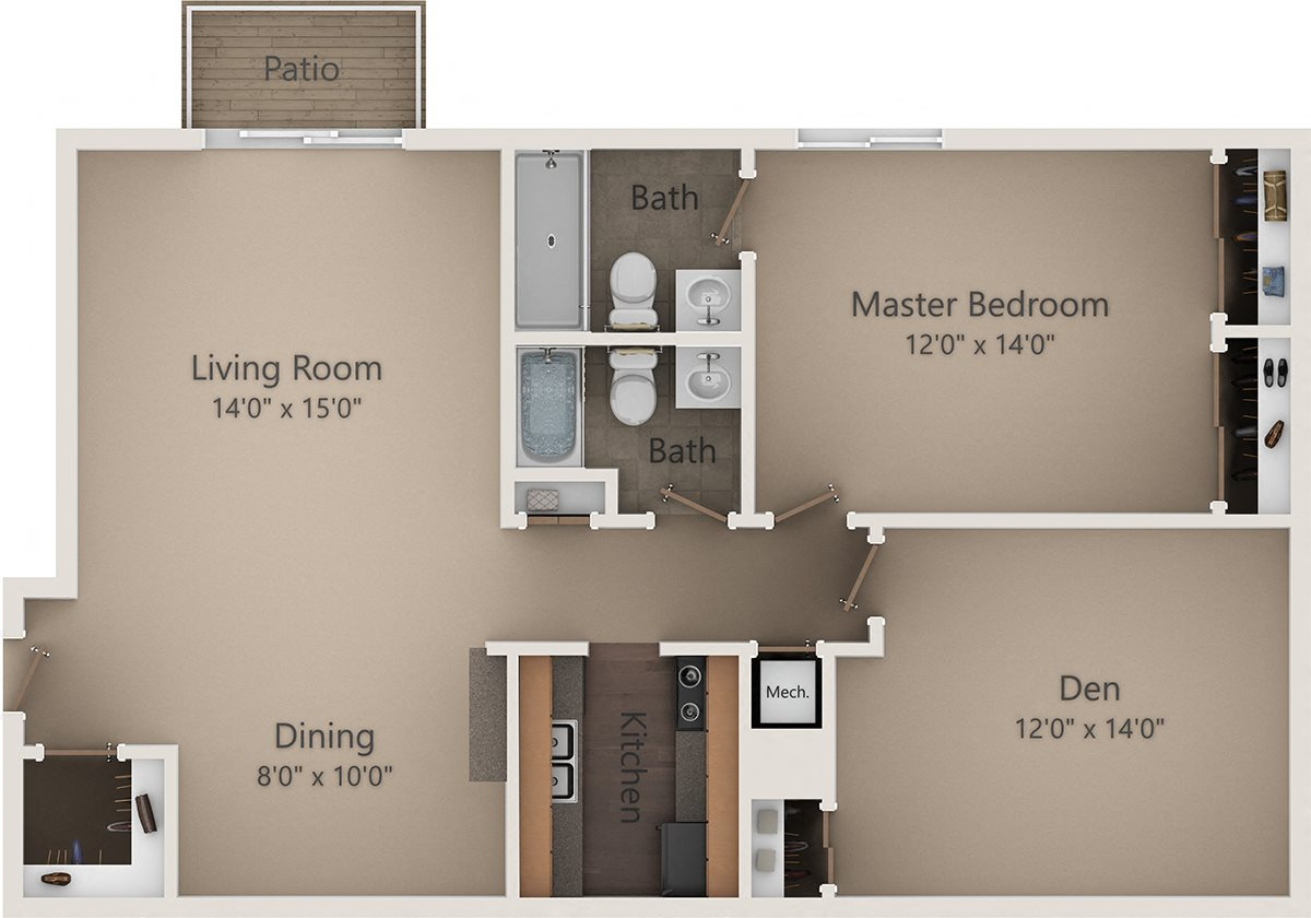The Birch II Floor Plan 11