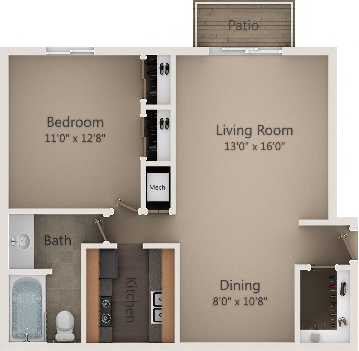 The Maple Floor Plan 2