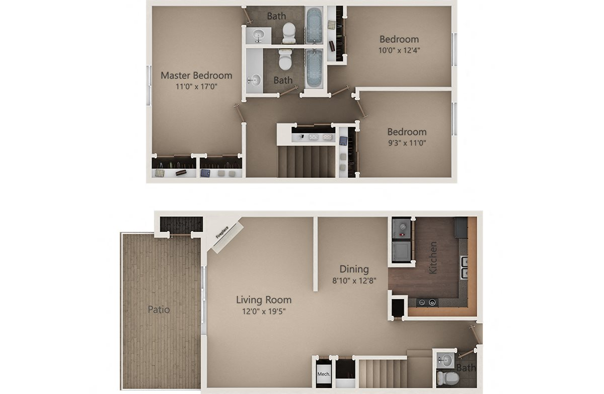 The Pine Floor Plan 13