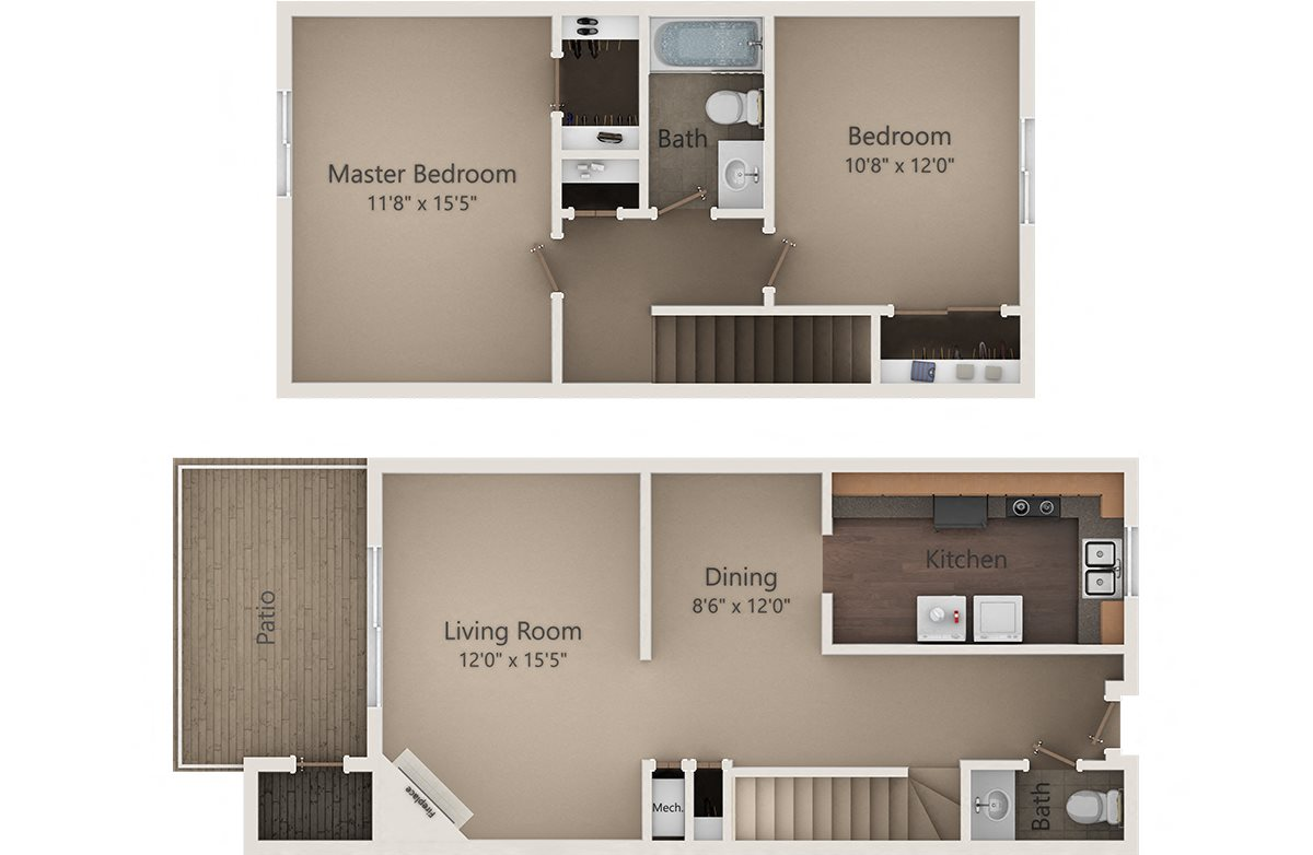 The Spruce Townhome Floor Plan 4