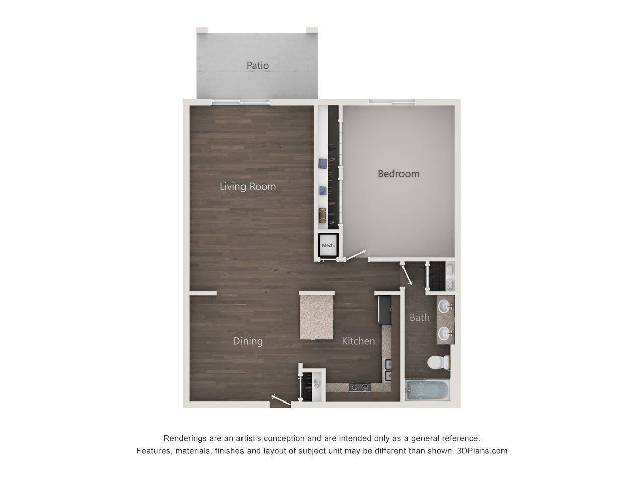 The Arlington Floor Plan 1