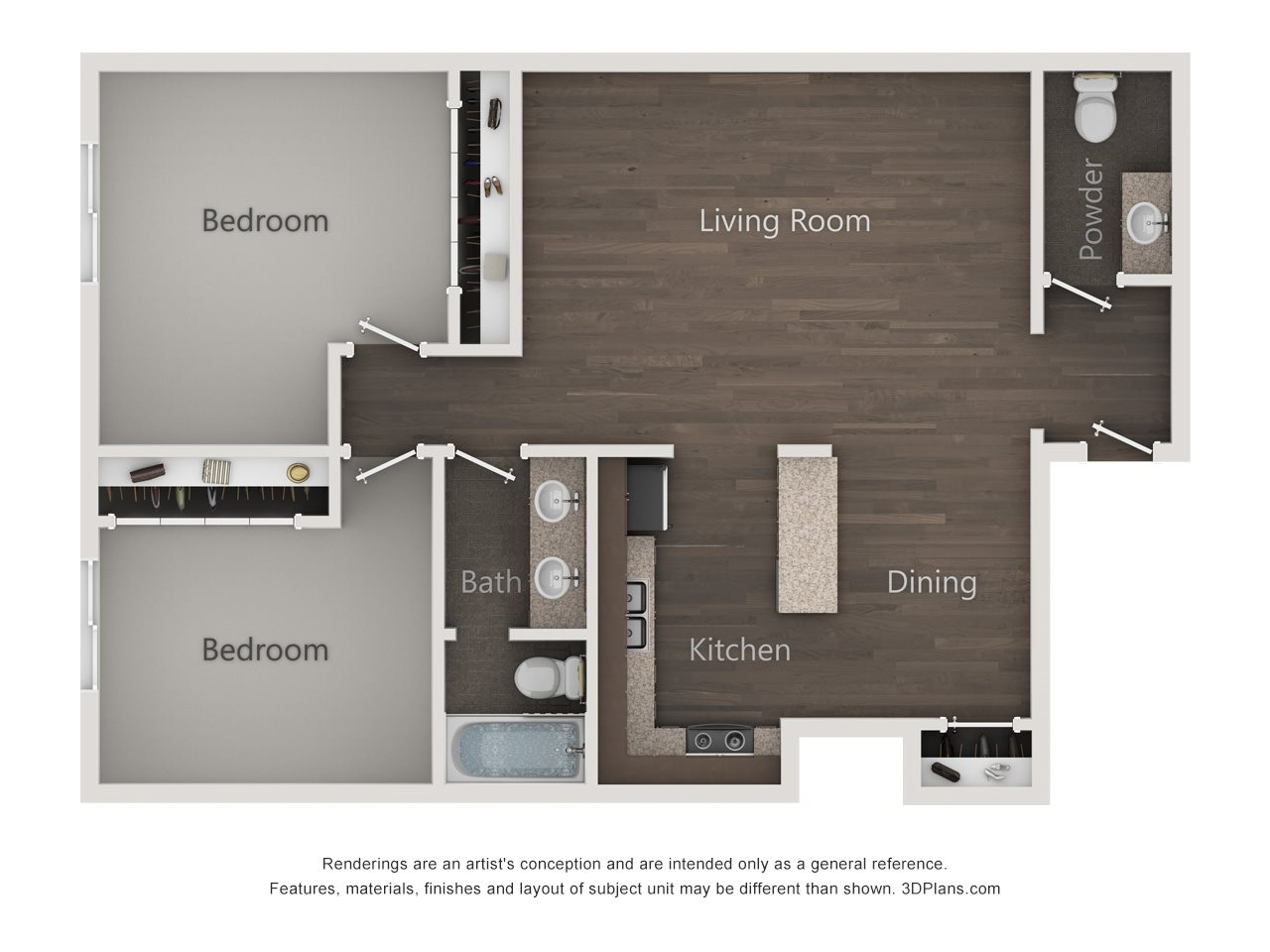 The Lincoln Floor Plan 3