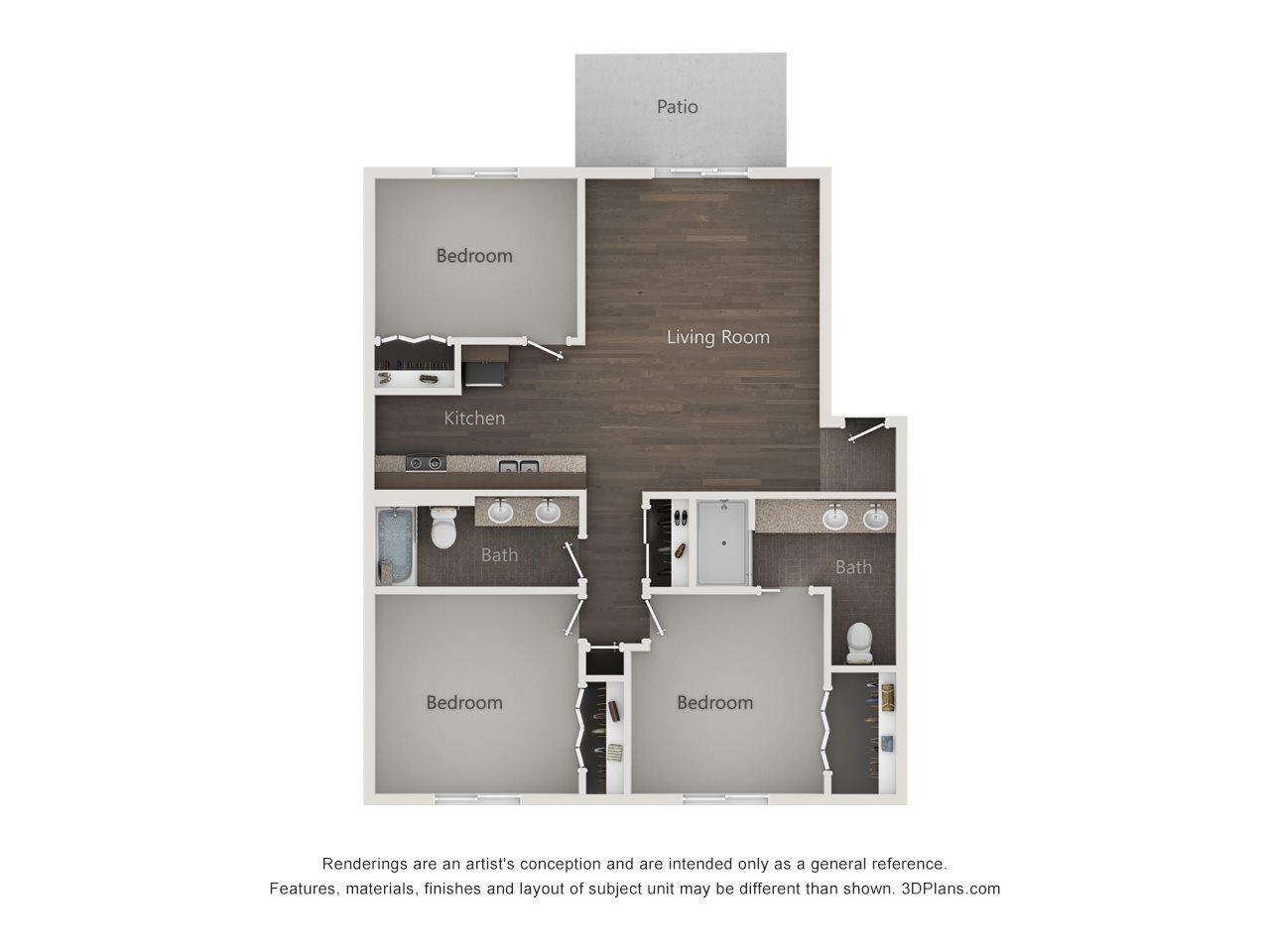 The Palatine Floor Plan 5