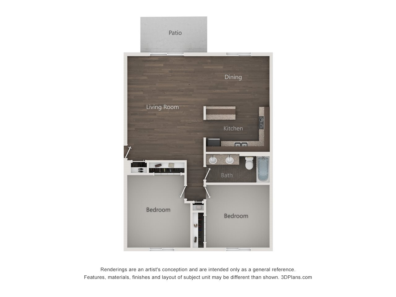 The Pinewood Floor Plan 4