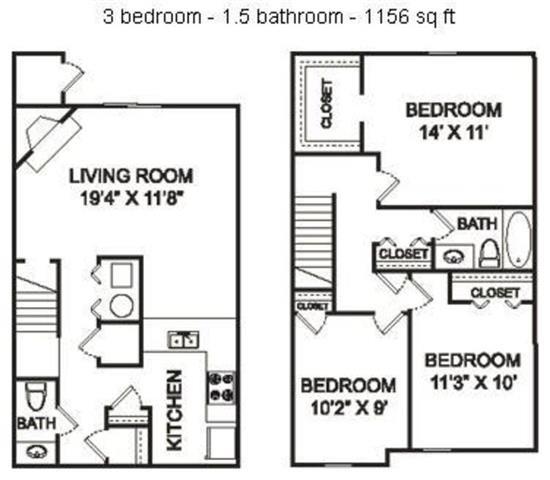 The Five Points Floor Plan 5