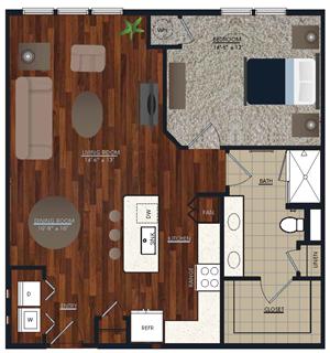 Centric LoHi A7 Floor Plan