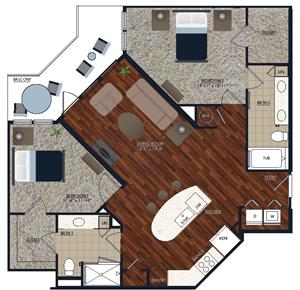 Centric LoHi B4 Floor Plan
