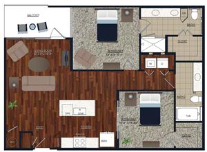 Centric LoHi B5 Floor Plan