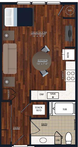 Centric LoHi S2 Floor Plan