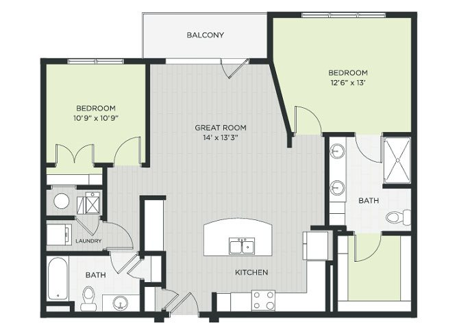 Ridgeview Floor Plan 5