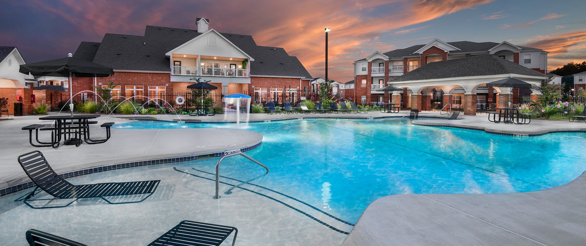 The trails at bentonville apartments in bentonville ar for Bentonville pool