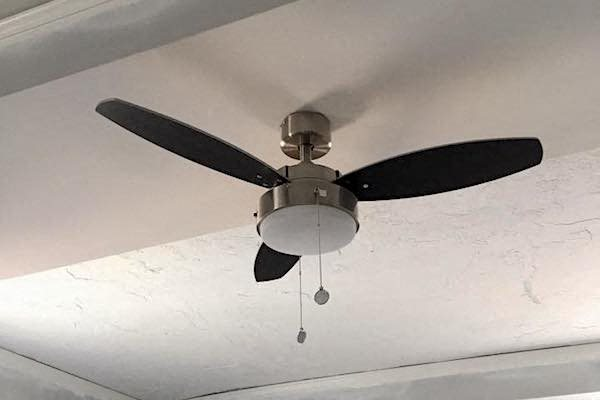 Ceiling fan in Thomas Jefferson Tower studio, one, and two bedroom apartments in Birmingham, AL  35203