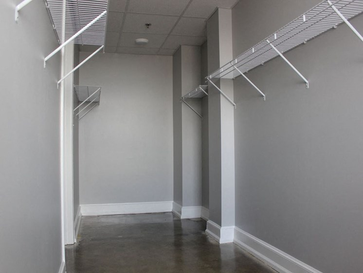 Spacious Thomas Jefferson Tower apartments Walk-in Closet in Birmingham, AL 35203