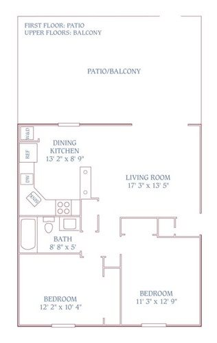 The Colony Upstairs Floor Plan 2