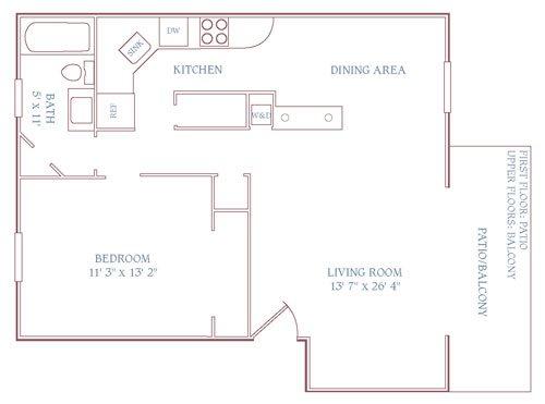 The Newport Downstairs Floor Plan 15