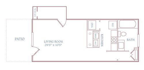 The Rosewell Floor Plan 16