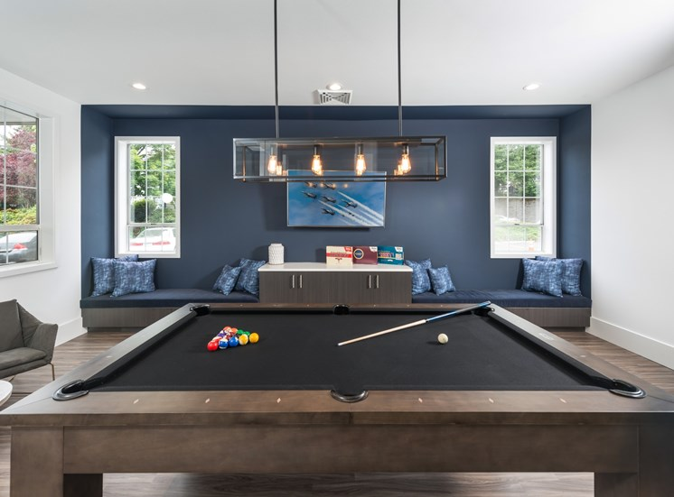 81 Fifty at West Hills Apartment Homes Portland Oregon Game Room