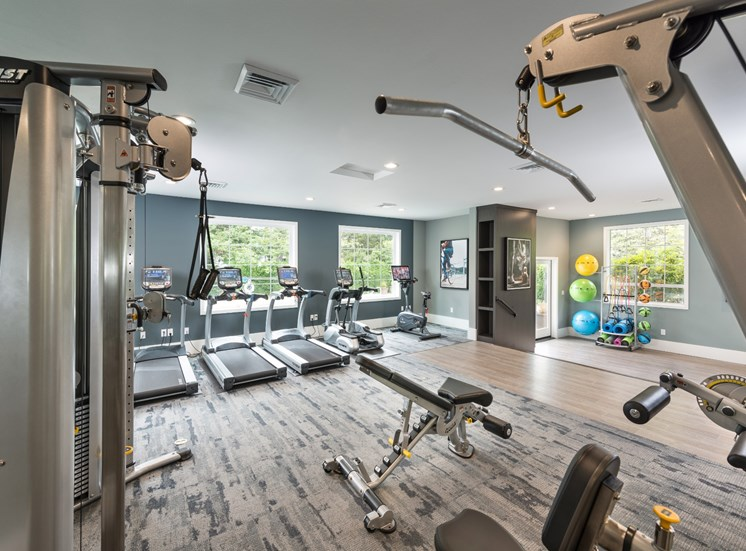 81 Fifty at West Hills Apartment Homes Portland Oregon Fitness Center