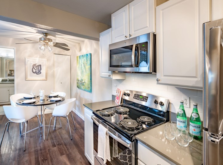 81 Fifty at West Hills Apartment Homes Portland Oregon Kitchen and Dining Area