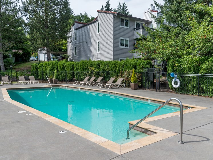 81 Fifty at West Hills Apartment Homes Portland Oregon Pool & Sundeck